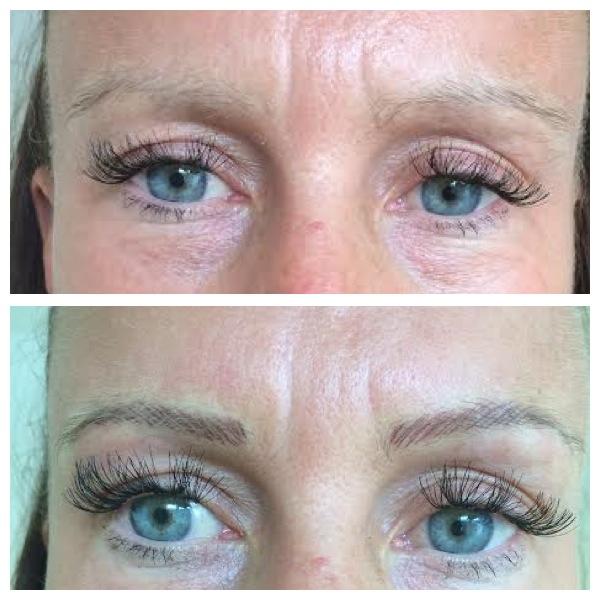 Lauras First Eyebrow Model Medicare Cosmetics