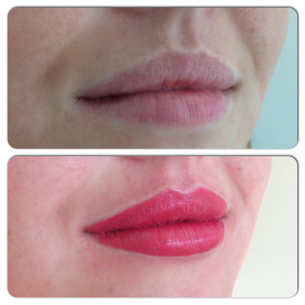 Semi Permanent Lip Liner & Blush