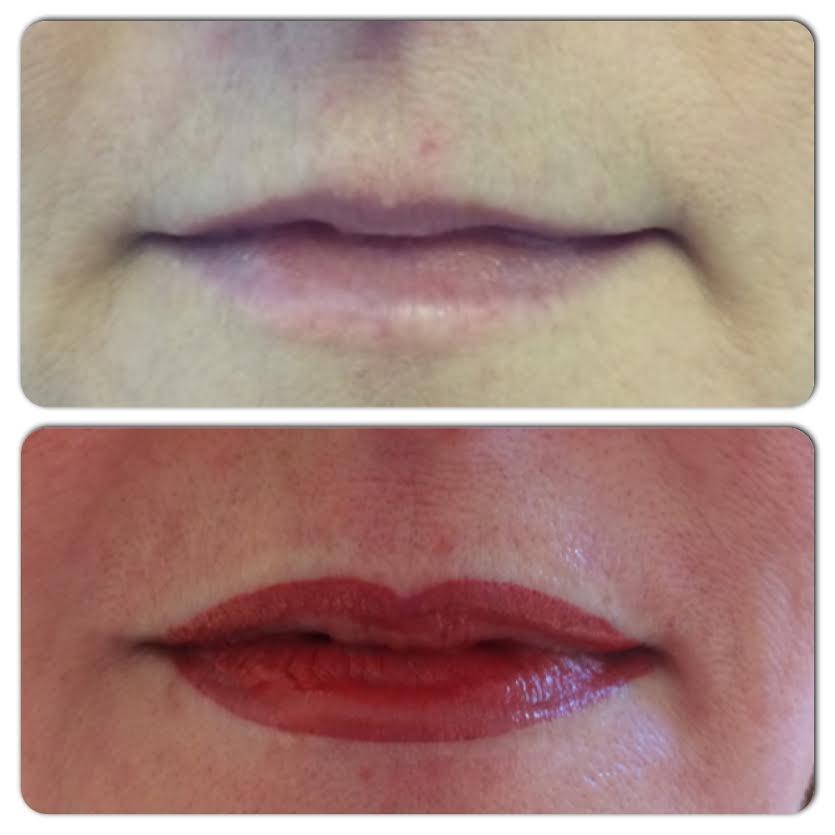 semi permanent lip liner amp blush medicare cosmetics