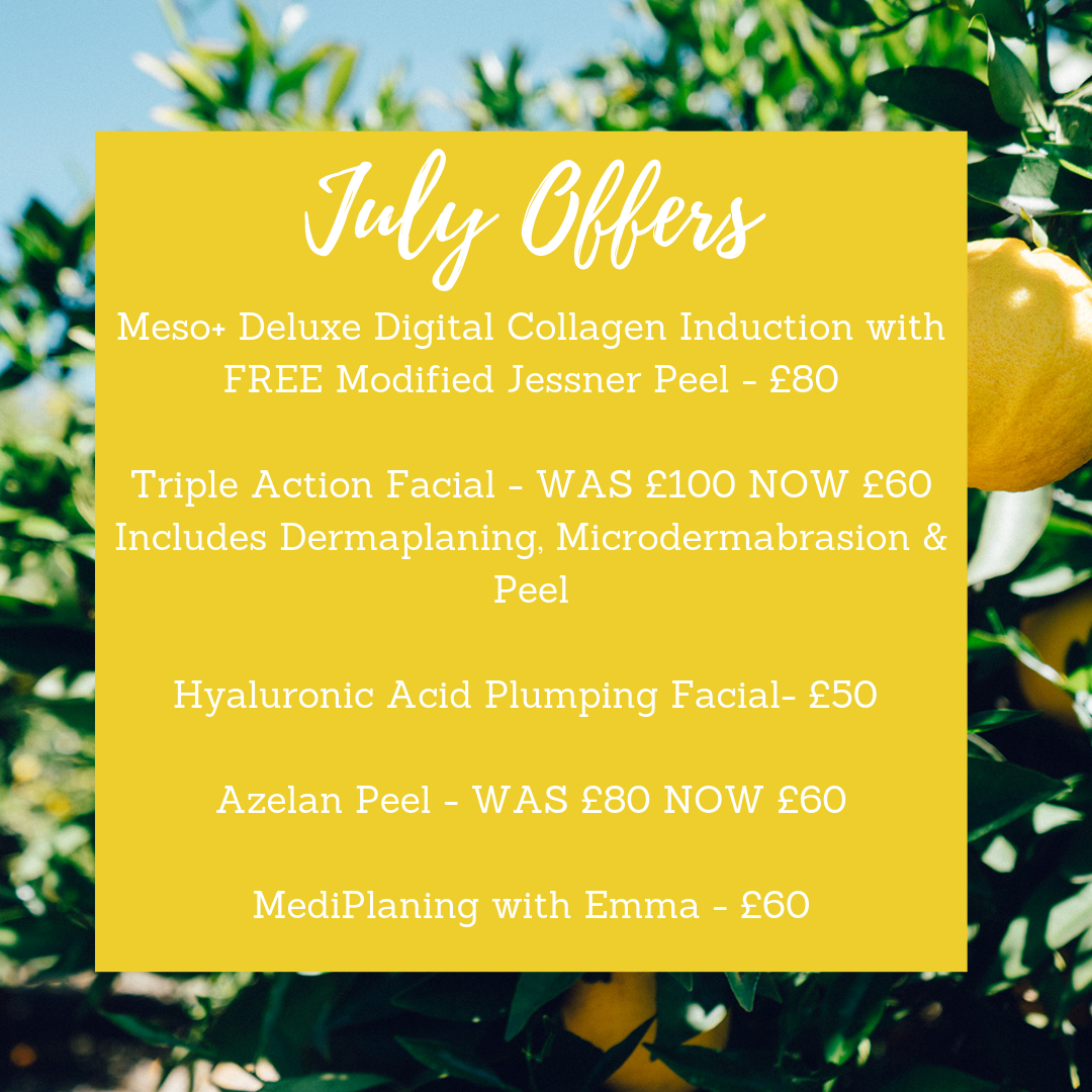 Take Advantage Of Our July Offers - Medicare Cosmetics Redcar